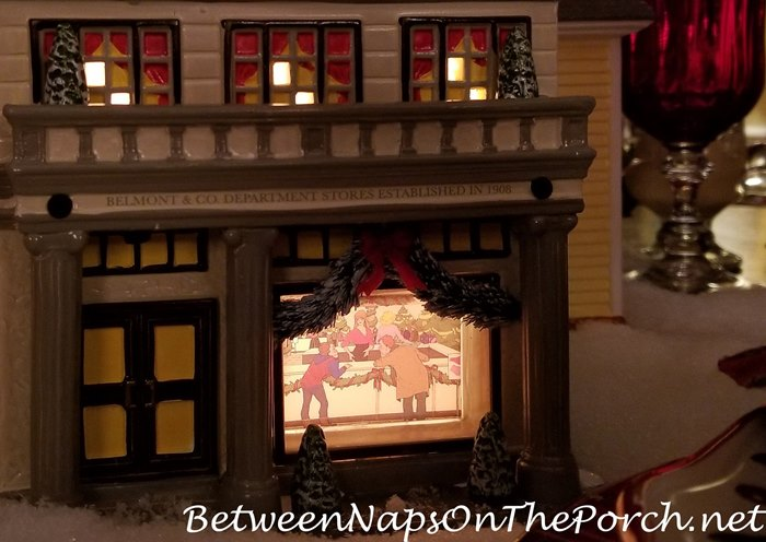 Clark and Rusty in Belmont & Co. Department Store, Christmas Vacation Movie