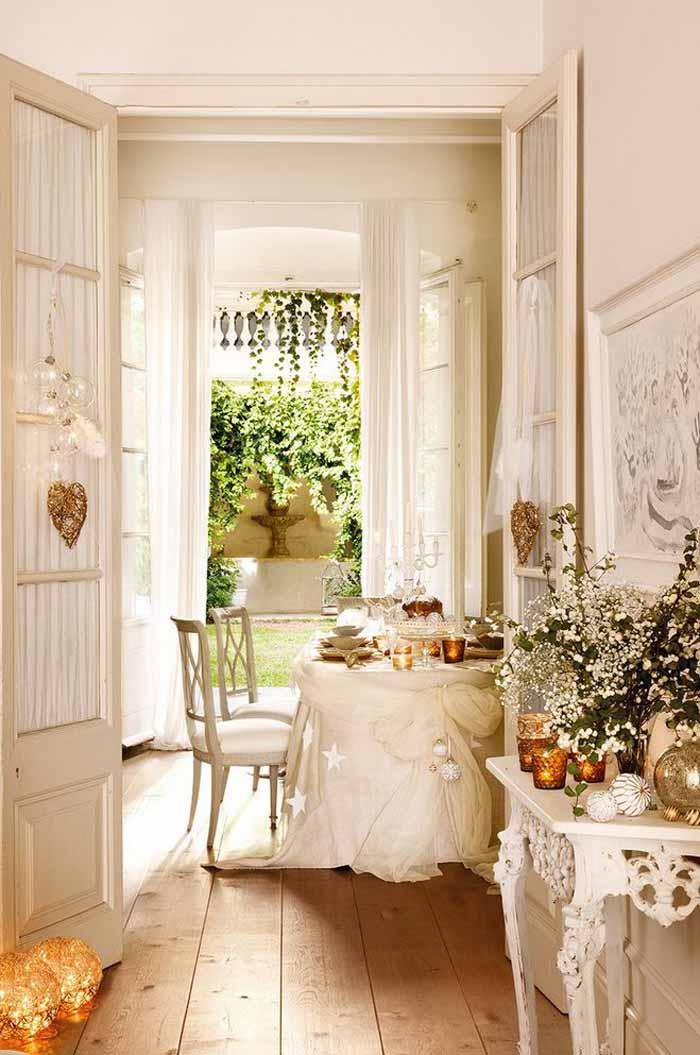 Decorate in White
