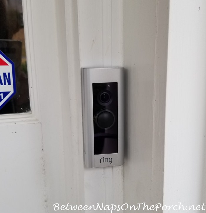 Ring Doorbell Installed