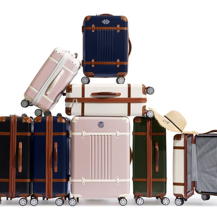 Beautiful Travel Luggage with Vintage Style