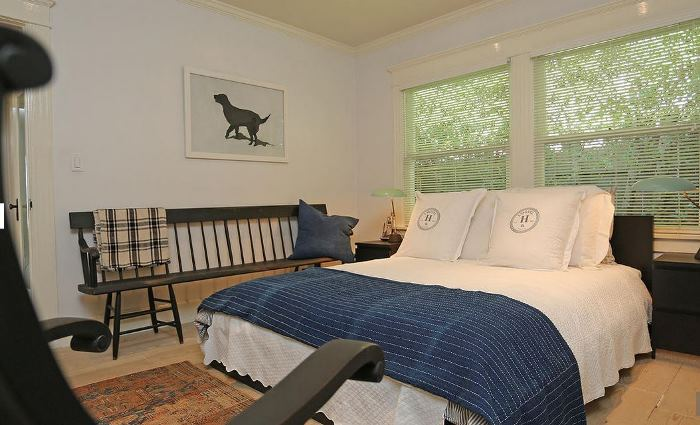 Bedroom in Home of George Peppard Breakfast at Tiffany's