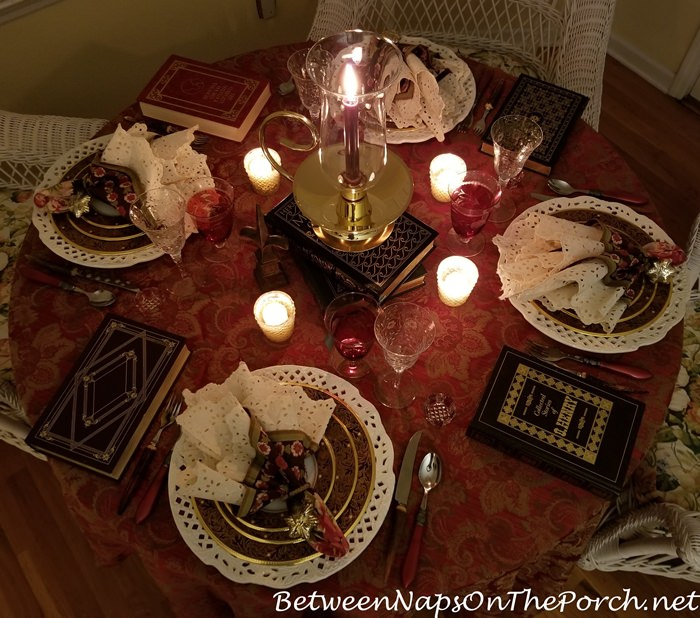 Book Club Dinner by Candlelight