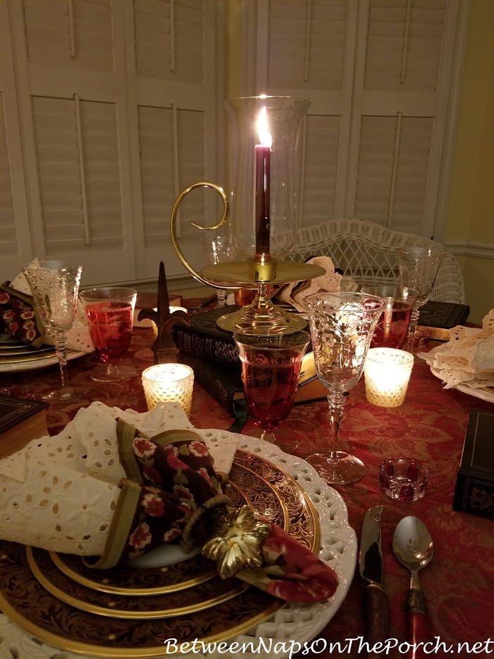 Cozy Dining, Wintertime