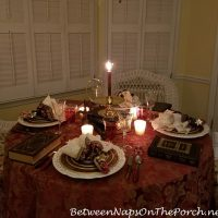 Cozy Winter Table Setting, Book Club