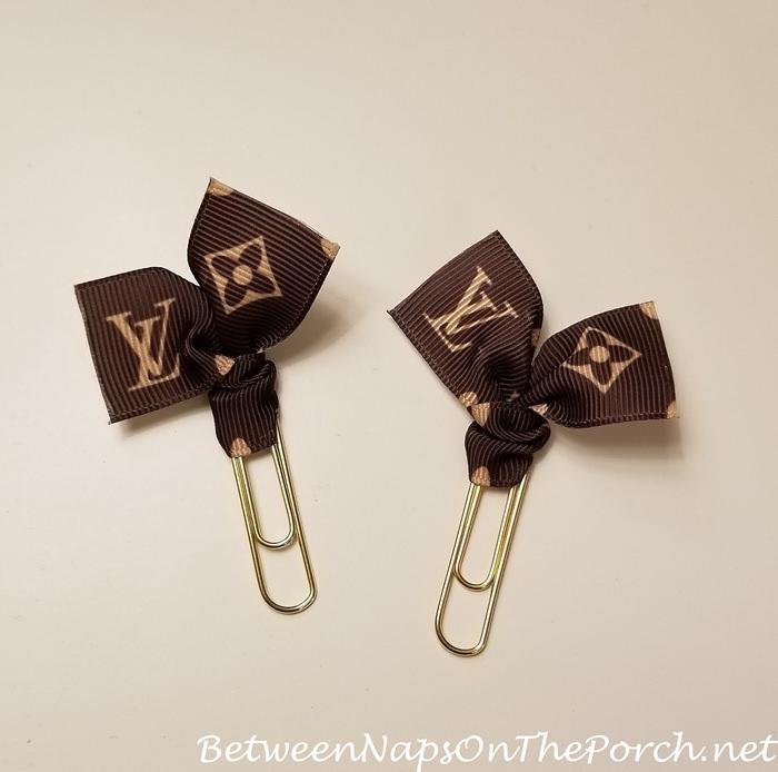 Cute Louis Vuitton Style Paper Clips