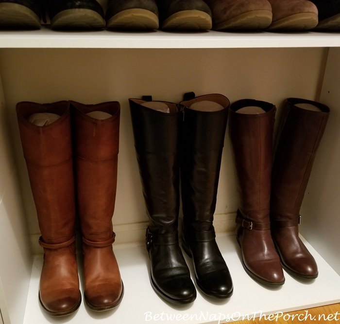 How to Keep Boots from Falling Over