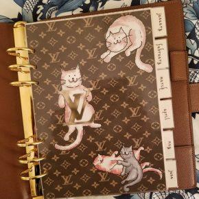 Louis Vuitton Grace Coddington Inspired Agenda Page Dashboard