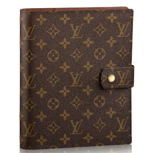 Louis Vuitton Large GM Agenda in Monogram Print