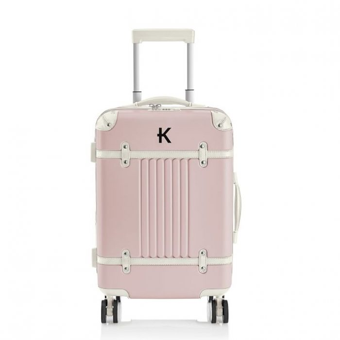 Pink Luggage with Vintage Feel