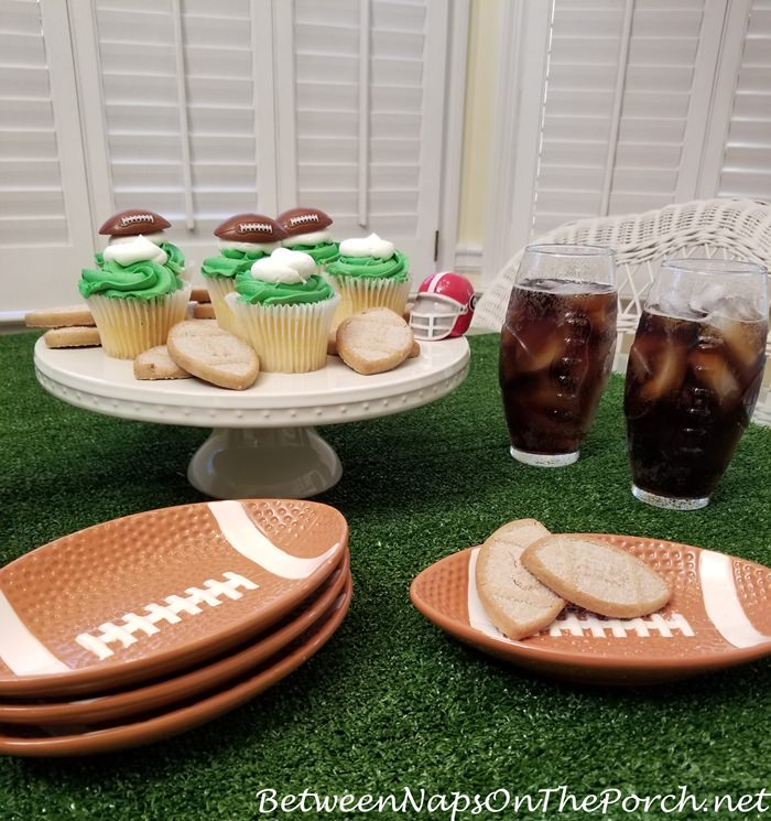 Super Bowl Party Dinnerware