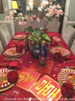 A Tablescape to Celebrate the Chinese New Year & A Fun Game of Mahjong