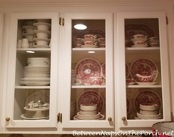 Beautiful Dish Storage that's practical