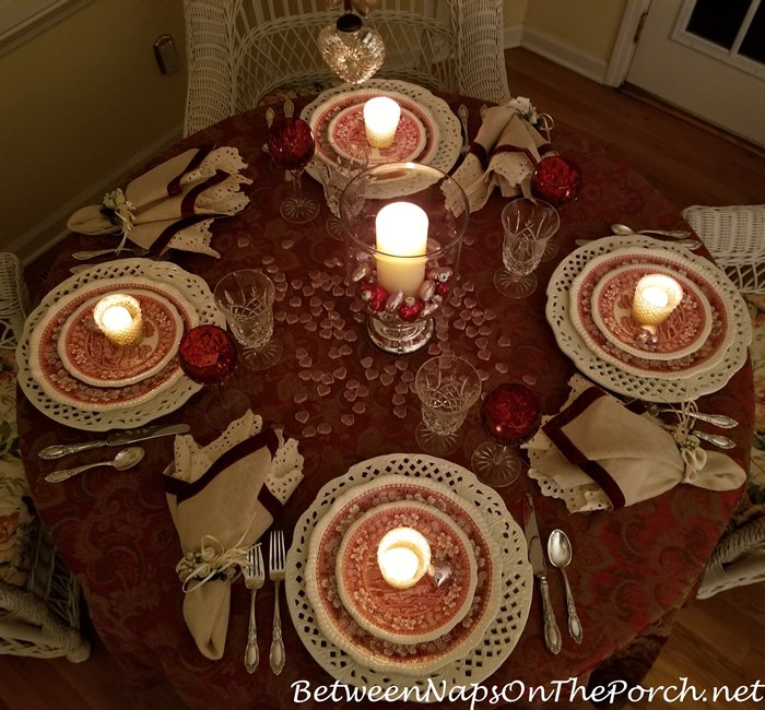 Candlelit Table, Valentine's Day