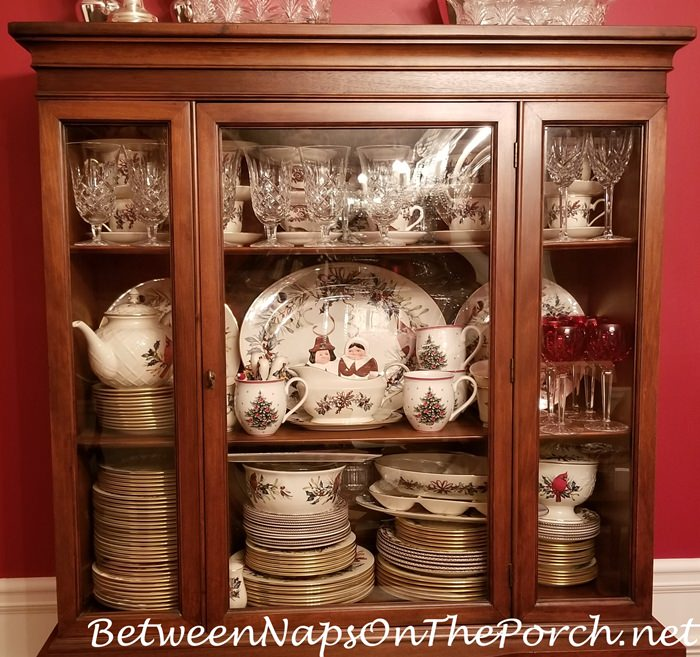 China Storage, Lenox Winter Greetings and Spode Holiday