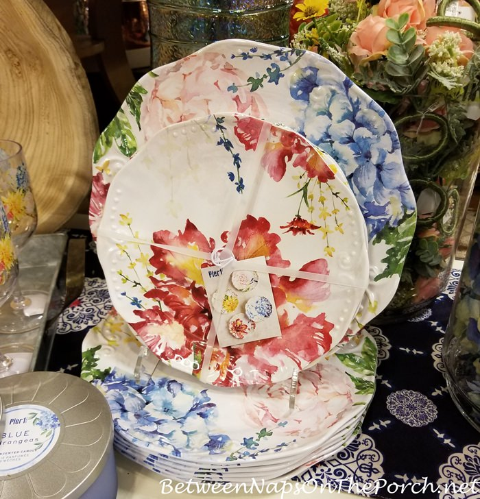 Floral Melamine Dinnerware for Spring