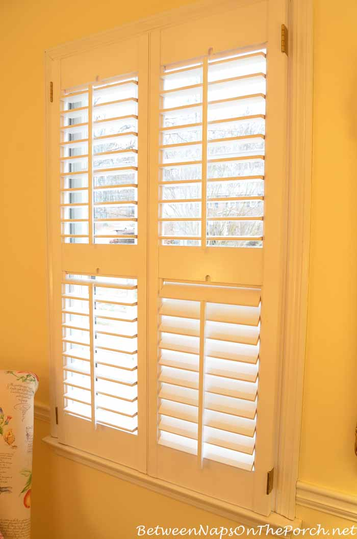 Plantation shutters open the image kid for Plantation shutter plans