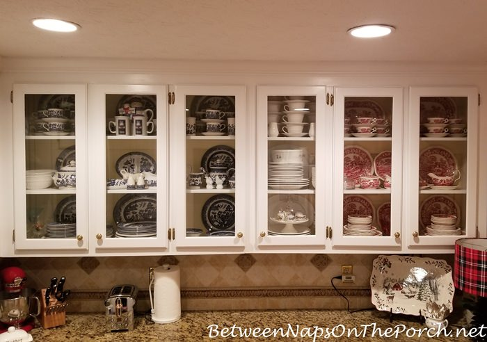 Pretty, Practical Dish Storage