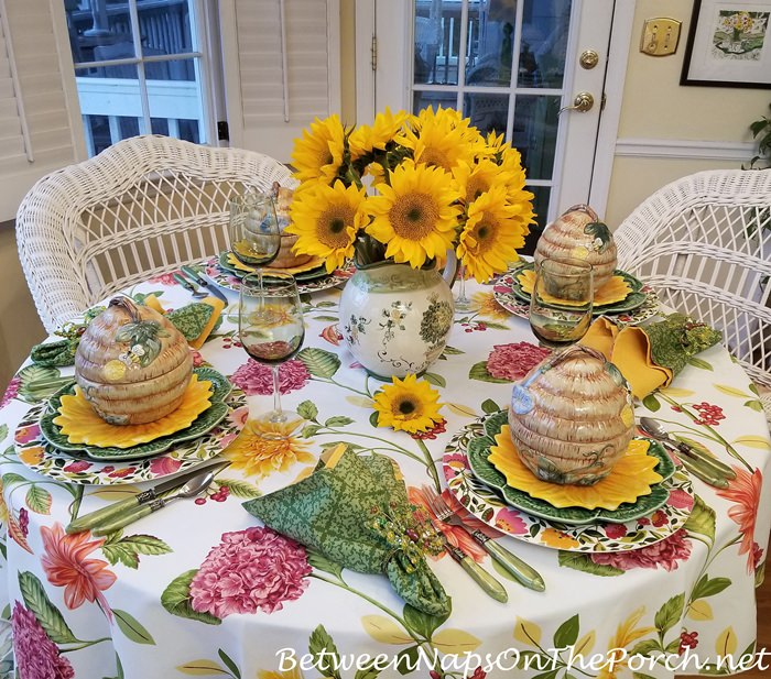 Spring Table for Tablescape Thursday