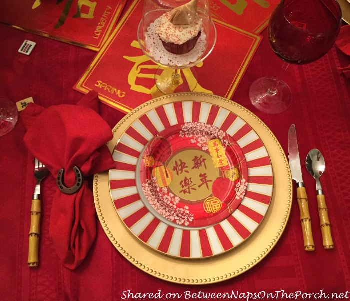 Table Setting to Celebrate Chinese New Year