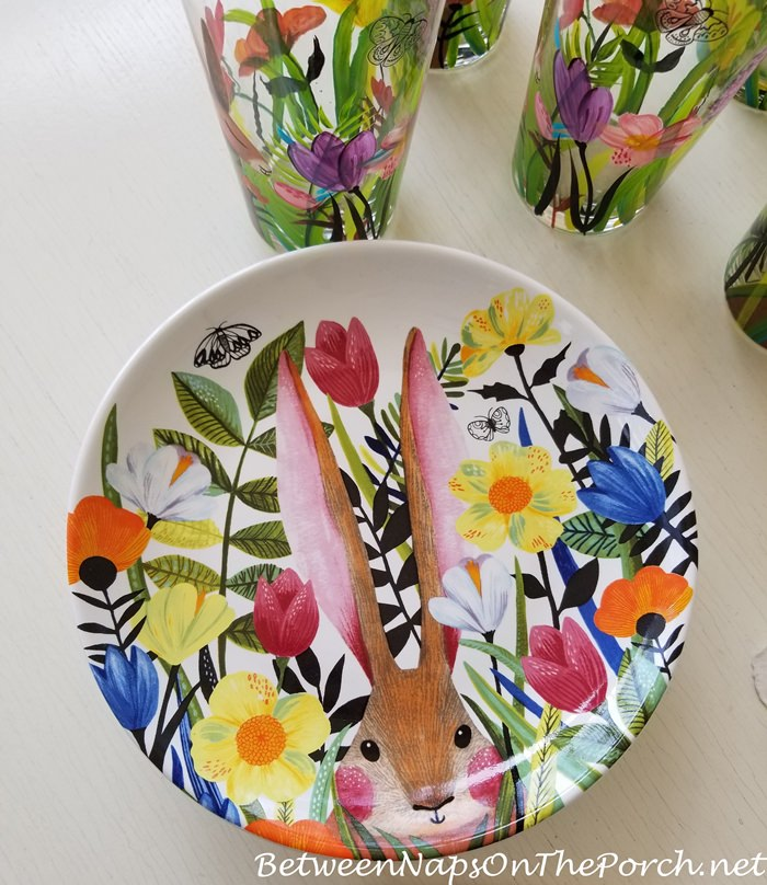 Adorable Bunny Plates