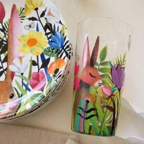 Adorable SpringtimeBunny Glasses on Sale