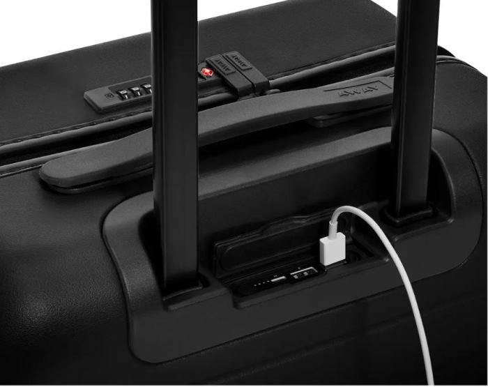 Away Bigger Carry On Luggage with Ejectable Battery for Charging Phone