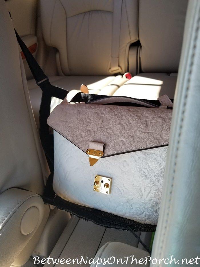 Car Holder for Handbag, Keeps Handbag Safe, Out of Sun