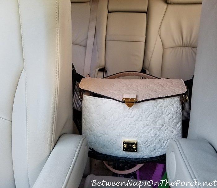 Holder for Handbag in Car, Keeps Handbag Safe, Out of Floor