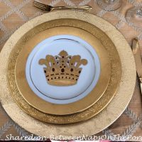 Hutschenreuther Dinner Plates and Muirfield Crown Salad Plates