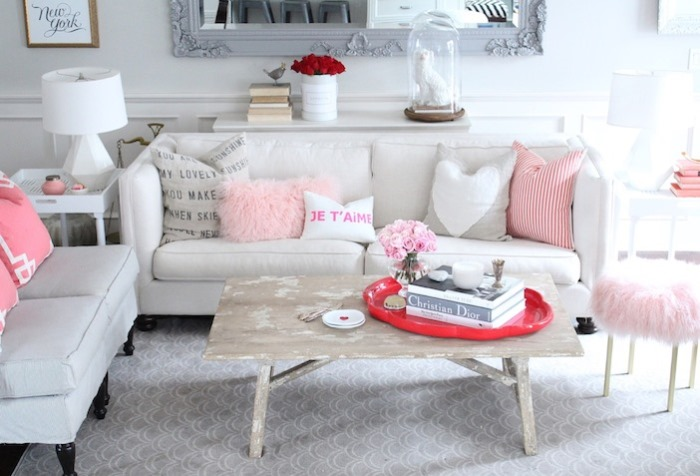 Jillian Harris's Living Room, Vancouver Home