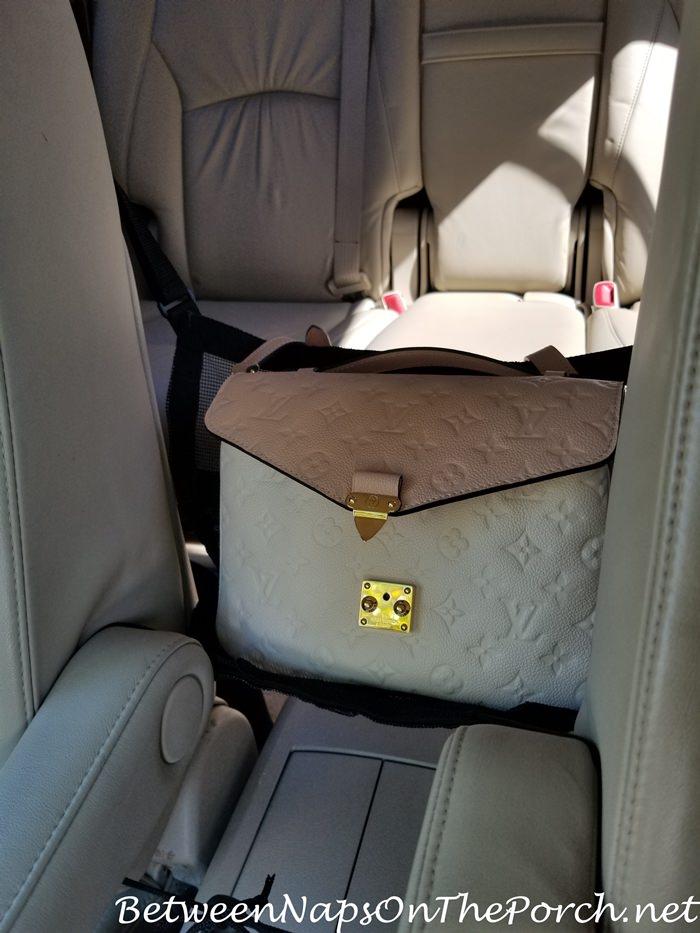 Keep Handbag Safe in Car While Driving