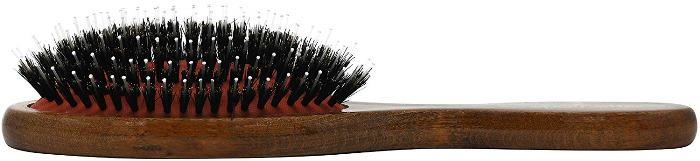 Natural Bristle Brush, German Cushion Porcupine Boar
