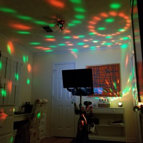 Party Light for Exercise Room