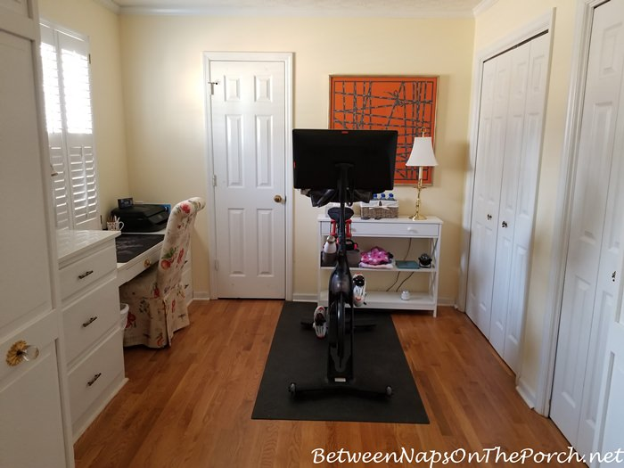 Peloton Bike in Dressing Area off Master Bedroom