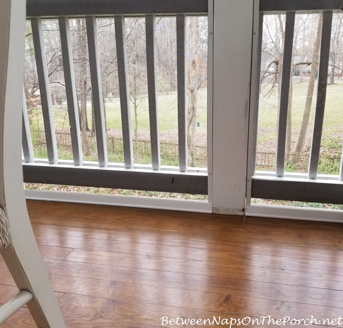 Screened Porch Molding Replacement