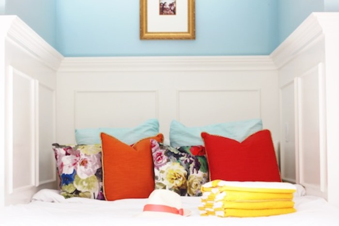 Sleeping Area in Jillian Harris's Vancouver Home