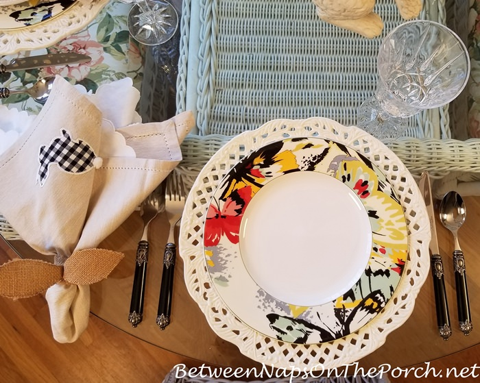 Spring Table Setting with Mikasa Modern Butterfly