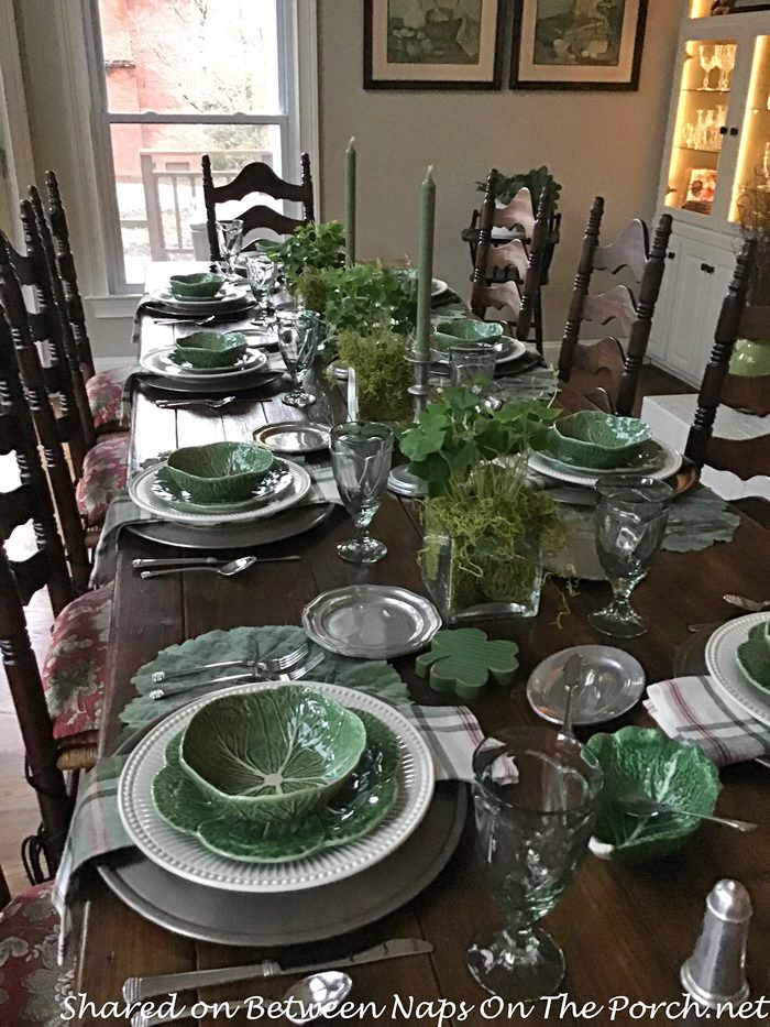 St. Patrick's Day Table, 2019