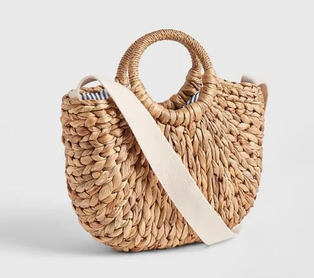 Woven Straw Bag for Summer