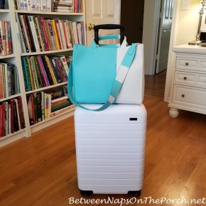Away Suitcase with Tiffany & Co. Tote