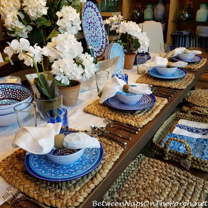 Blue & White Dinnerware
