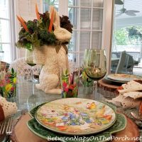 Bunny Glasses for Peter Rabbit Table