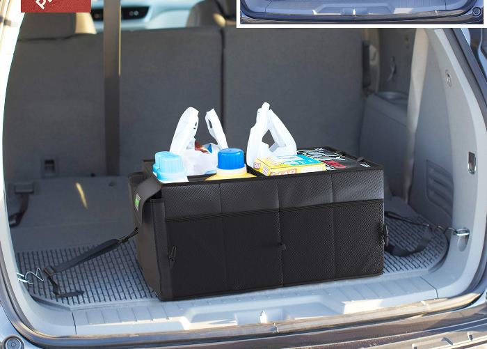 Car Organizer for Groceries, bats, balls and other stuff