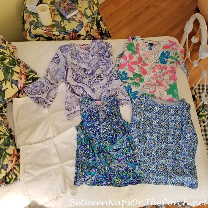 Clothes for a Summer Beach Vacation