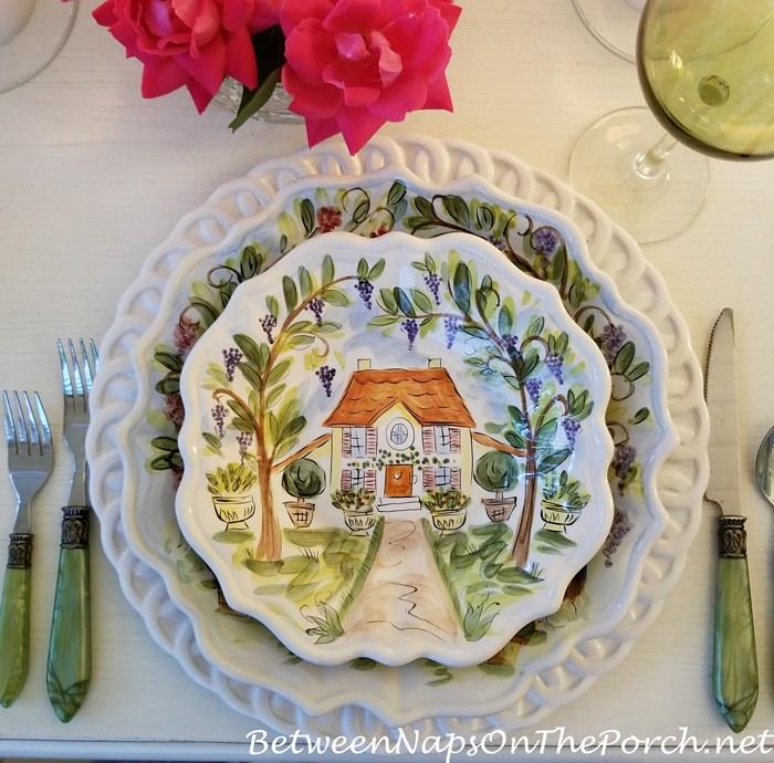 Dario Farrucci, Ma Maison Salad Plate