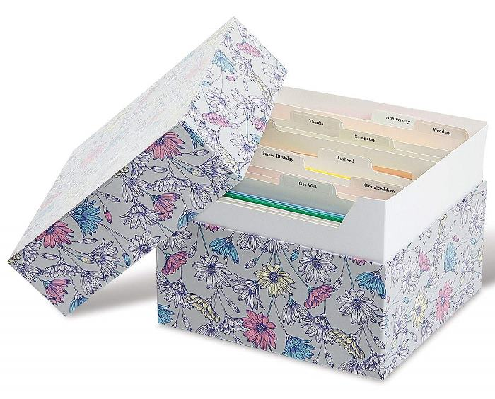 Greeting Card Organizer & Storage