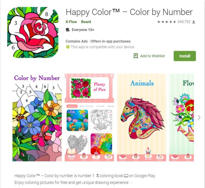 Happy Color App
