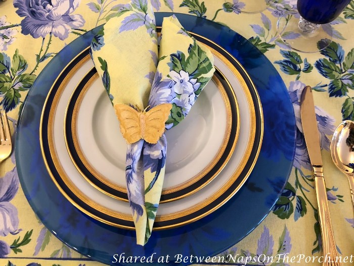 Hutschenreuther china in Spring Table Setting