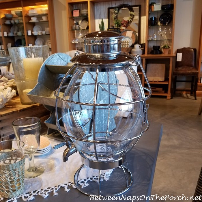 Lighthouse Lantern Beverage Server