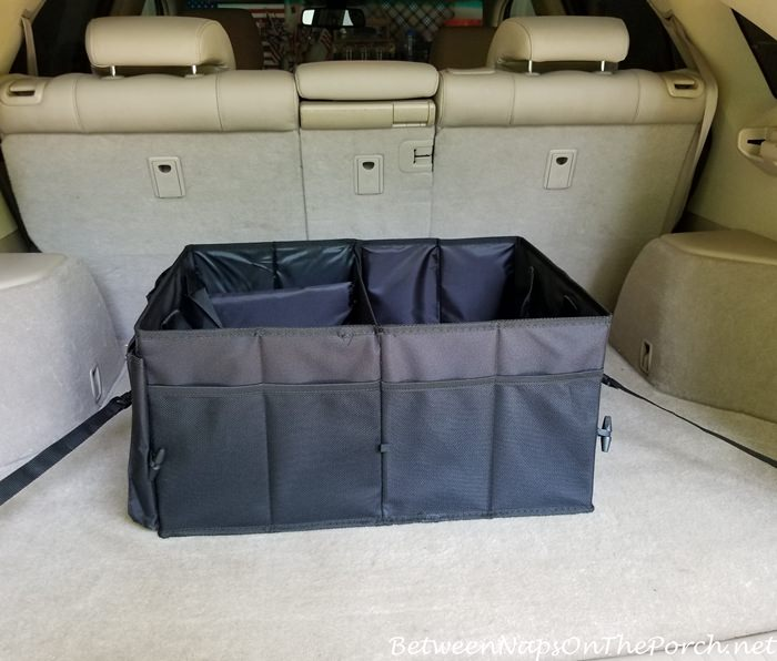 Organizer and Storage Holder for SUV or Car